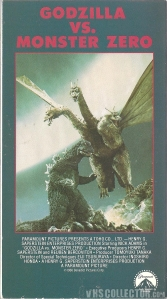 Godzilla Vs. Monster Zero (Front)